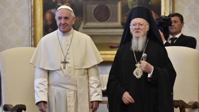 Papa Francisco envia mensagem ao Patriarca Bartolomeu I 01caba2497243